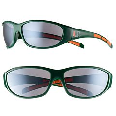 Adult Miami Hurricanes Wrap Sunglasses