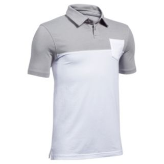 Boys 8-20 Under Armour Charged Colorblock Polo