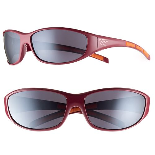 Adult Virginia Tech Hokies Wrap Sunglasses