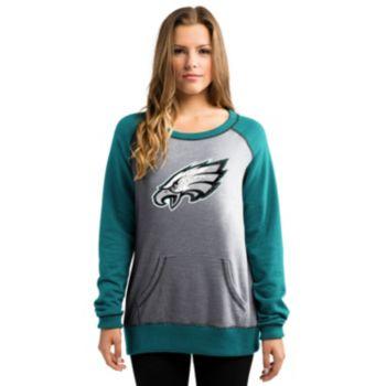 Women's Majestic Philadelphia Eagles O.T. Queen Sweatshirt