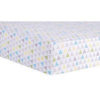 Trend Lab Triangles Fitted Crib Sheet