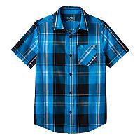 Boys 8-20 Tony Hawk® Plaid Button-Down Shirt