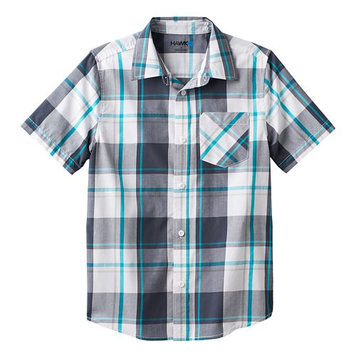 be9a8d77 Boys 8-20 Tony Hawk® Plaid Button-Down Shirt