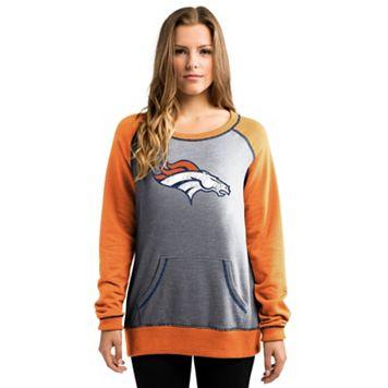 Women's Majestic Denver Broncos O.T. Queen Sweatshirt