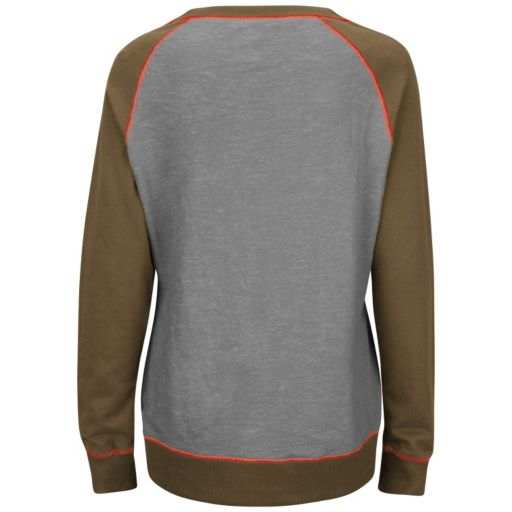 Women's Majestic Cleveland Browns O.T. Queen Sweatshirt