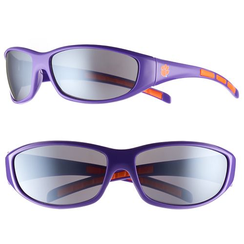 Adult Clemson Tigers Wrap Sunglasses