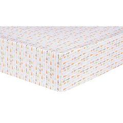 Trend Lab Deer Lodge Arrow Fitted Crib Sheet
