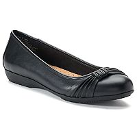 Croft & Barrow® Women's Ortholite Bow Ballet Flats