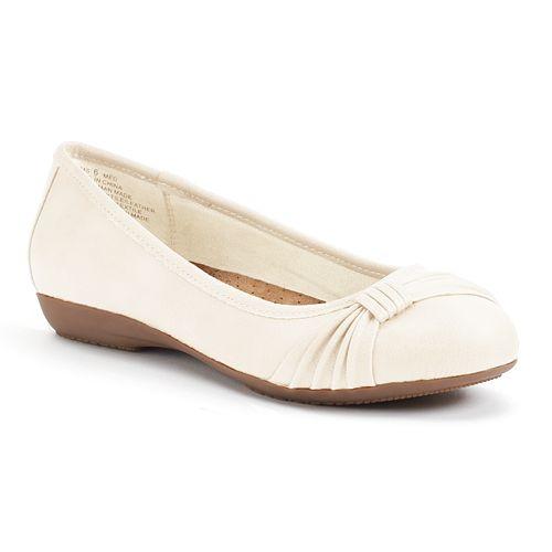 Croft & Barrow® Women's Ortholite Bow Ballet Flats
