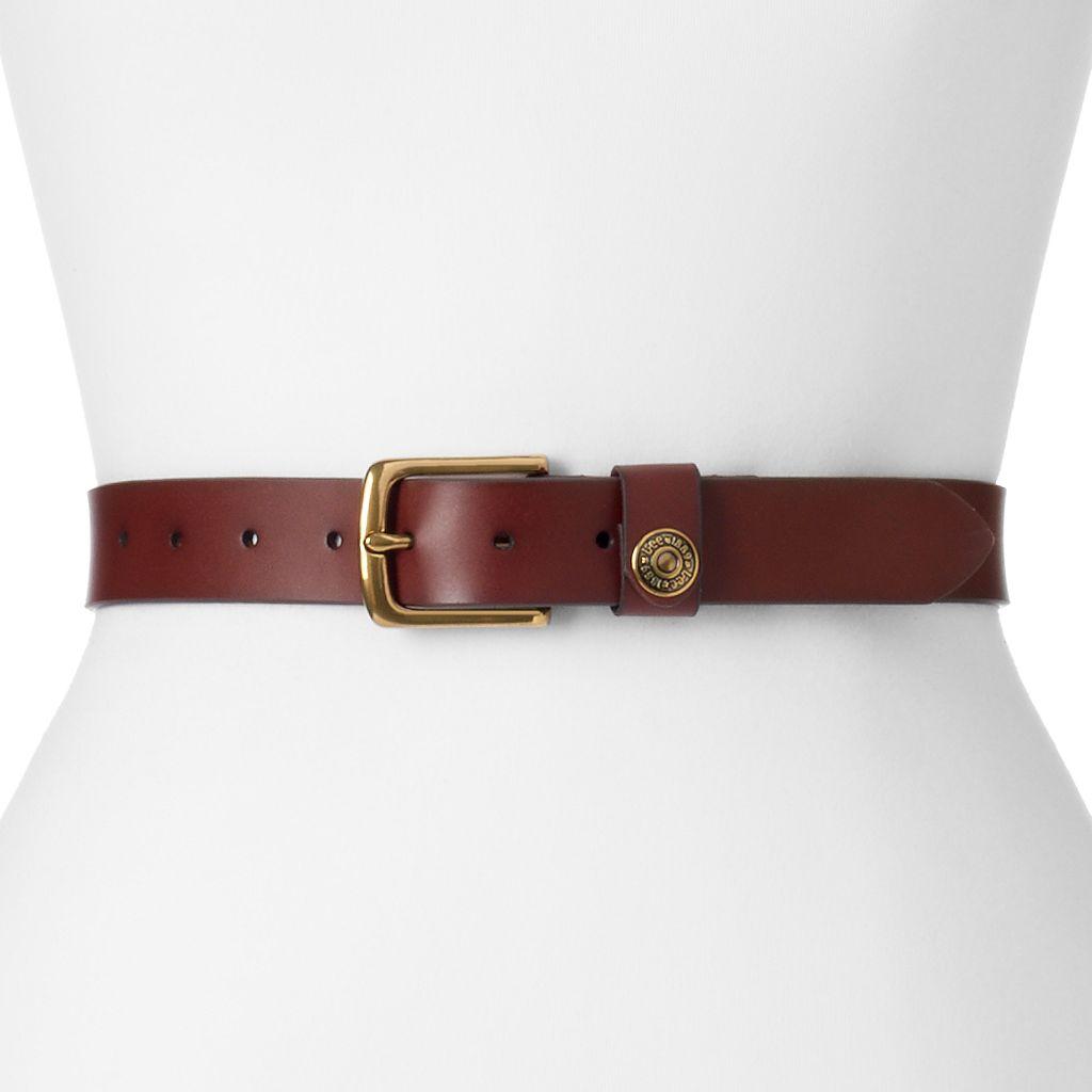 Women's Lee Riveted Leather Belt