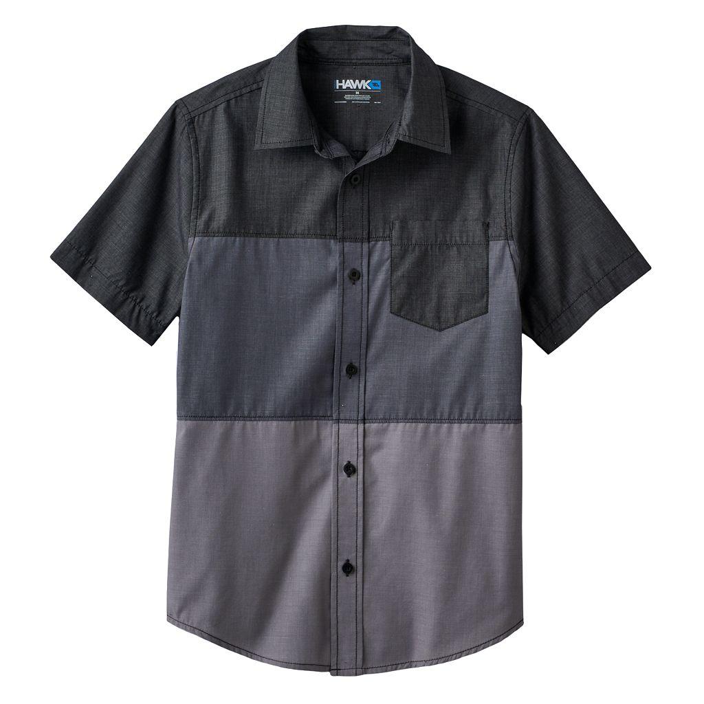 Boys 8-20 Tony Hawk® Colorblock Button-Down Shirt