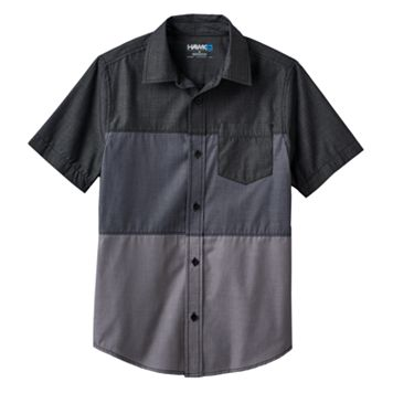 Boys 8-20 Tony Hawk® Colorblock Button-Down Shirt