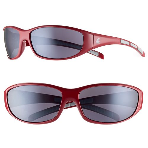 Adult Washington State Cougars Wrap Sunglasses