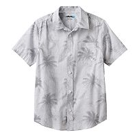 Boys 8-20 Tony Hawk® Tropical Print Button-Down Shirt