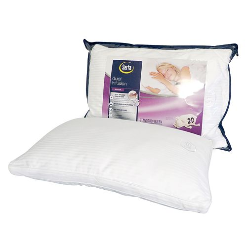 Serta Dual Infusion Pillow Buy Bed And Bat Storage