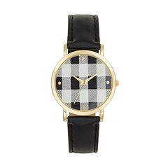 Women's Crystal Plaid Watch