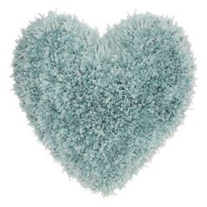 Mina Victory Framed Heart Shag Throw Pillow
