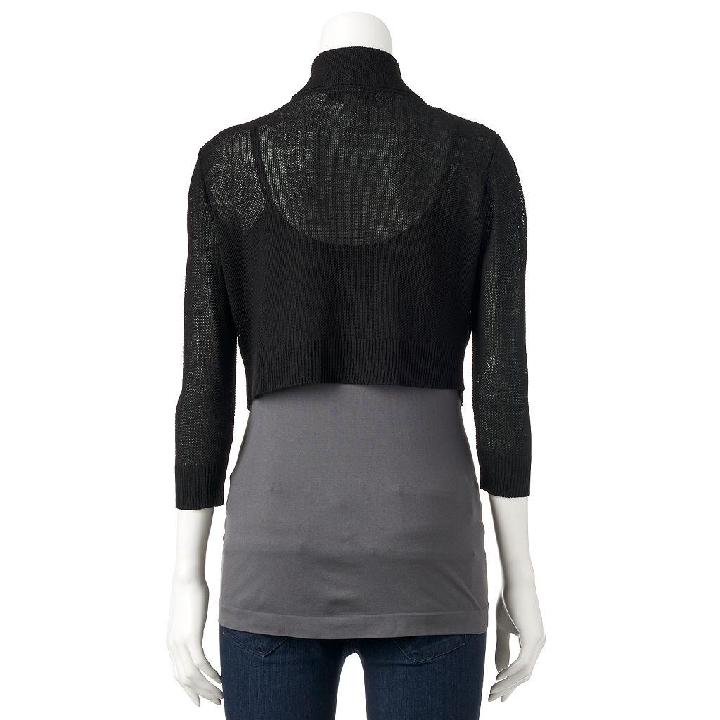 Women's Apt. 9® Textured Shrug