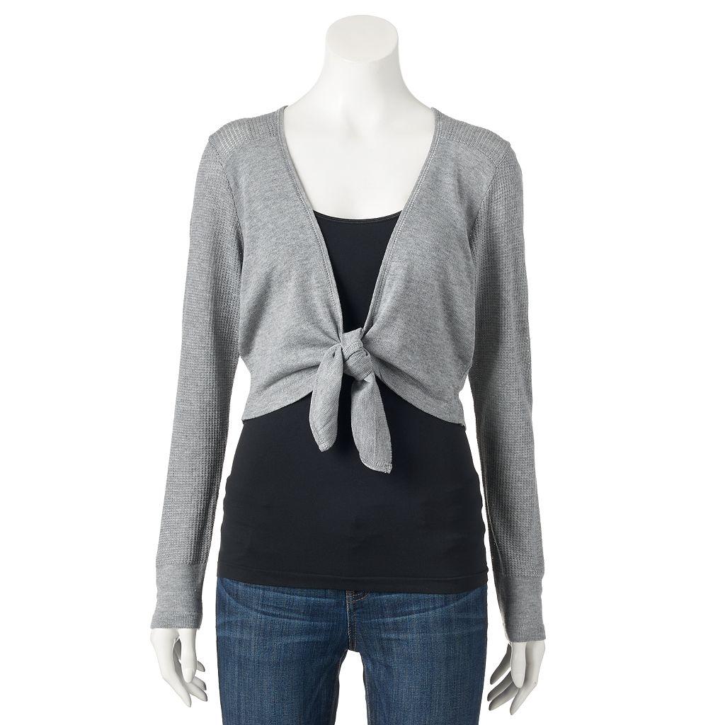 Women's Apt. 9® Tie Front Shrug
