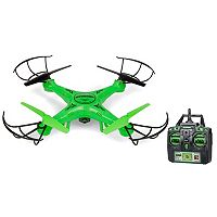 World Tech Toys Striker Glow-In-The-Dark Remote Control Quadcopter Spy Drone