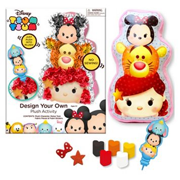 Disney's Tsum Tsum Design Your Own Plush Activity Kit