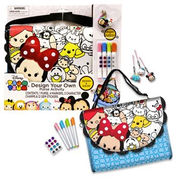 Disney's Tsum Tsum Design Your Own Purse Activity Kit