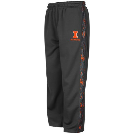 Boys 8-20 Campus Heritage Illinois Fighting Illini Cutter Fleece Pants