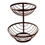 Spectrum Ashley 2-Tier Basket