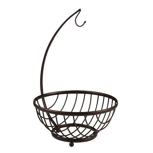 Spectrum Ashley Banana Holder with Fruit Basket
