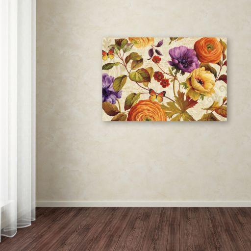 Trademark Fine Art End of Summer I Canvas Wall Art