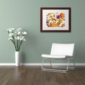 Trademark Fine Art End of Summer I Framed Wall Art