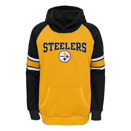 dbbe5c9c24f Boys 8-20 Pittsburgh Steelers Robust Hoodie