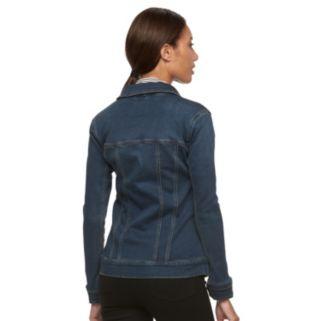 Women's Gloria Vanderbilt Faux-Denim Jacket