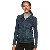 Women's Gloria Vanderbilt Faux-Denim Jacket