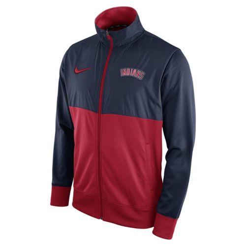 Men's Nike Cleveland Indians Track Jacket
