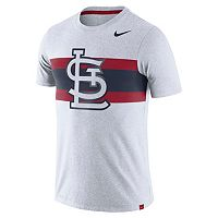 Men's Nike St. Louis Cardinals Tri-Blend Dri-FIT Tee