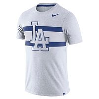 Men's Nike Los Angeles Dodgers Tri-Blend Dri-FIT Tee