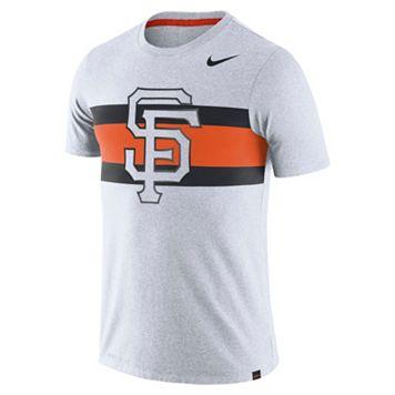 Men's Nike San Francisco Giants Tri-Blend Dri-FIT Tee