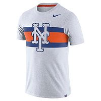 Men's Nike New York Mets Tri-Blend Dri-FIT Tee
