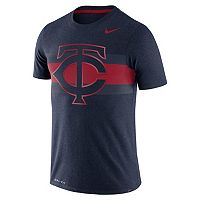 Men's Nike Minnesota Twins Tri-Blend Dri-FIT Tee