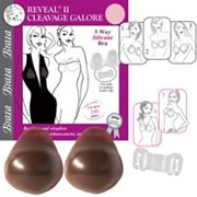 Braza Bra: Reveal 2 Cleavage Galore Silicone Strapless Backless Adhesive Push Up Bra 7840