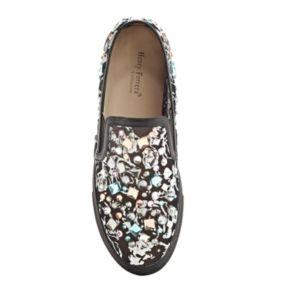 Henry Ferrera Lifestyle Women's Jeweled Slip-On Shoes