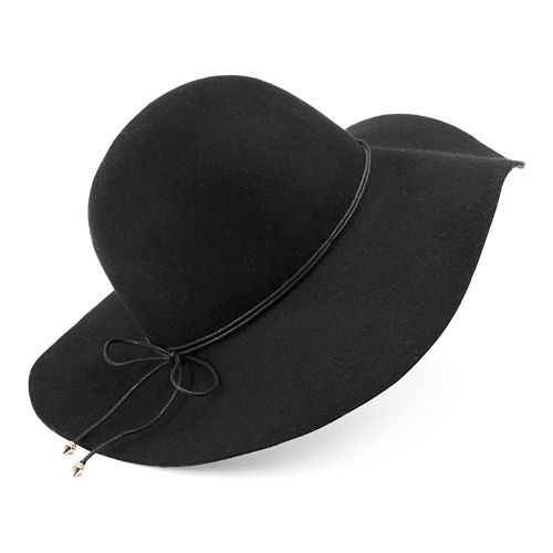 Women's Apt. 9® Double-Cord Wool Floppy Hat
