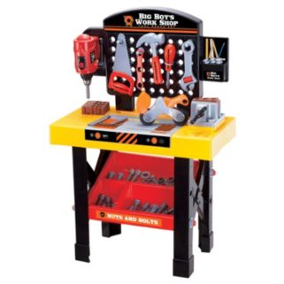 Big Boy's Work Shop 54-pc. Tool Bench Set by World Tech Toys