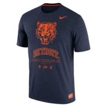 Men's Nike Detroit Tigers Cooperstown Legend Gym Issue Tee