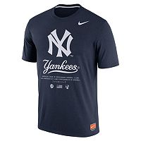 Men's Nike New York Yankees Cooperstown Legend Gym Issue Tee