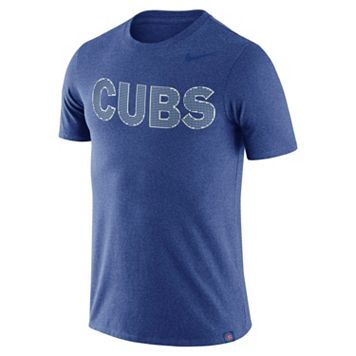 Men's Nike Chicago Cubs Dri-FIT Burnout Tee