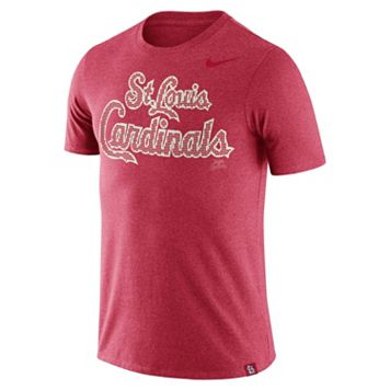 Men's Nike St. Louis Cardinals Dri-FIT Burnout Tee