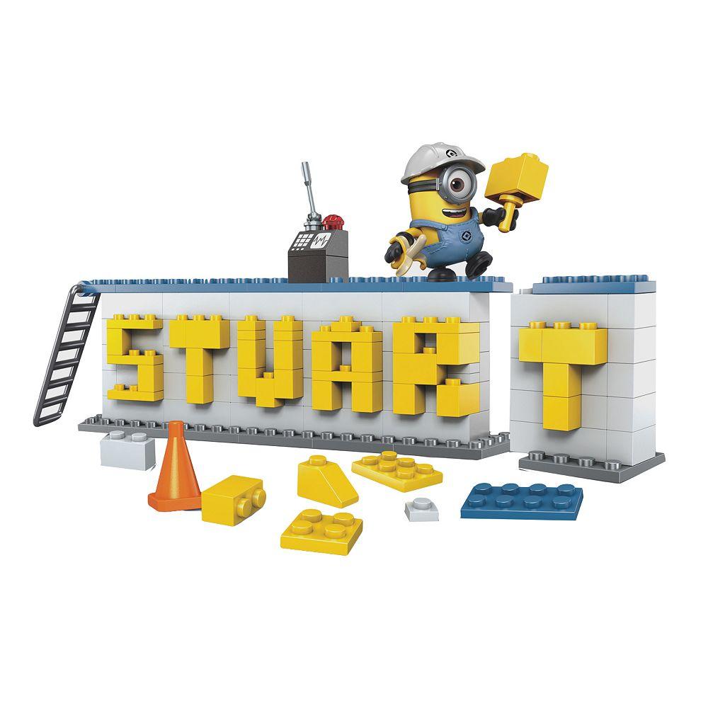 Mega Bloks Despicable Me Name Plate Builder