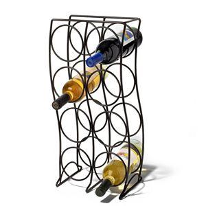 Spectrum Curve 8-Bottle Wine Rack